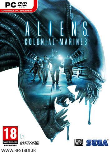 Aliens Colonial Marines Cover دانلود بازی Aliens Colonial Marines برای PC