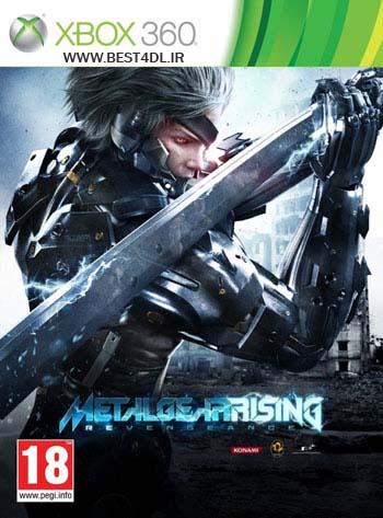 MGR cover دانلود بازی Metal Gear Rising: Revengeance برای XBOX360